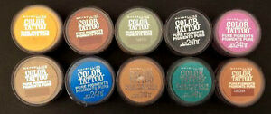 Maybelline Color Tattoo Pure Pigments 24Hr. Eyeshadow (You Choose)