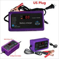 12V/24V 200AH Electric Car Motors Auto Intelligent Pulse Repair Battery Charger