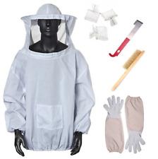 XL Beekeepers Schutzanzug Imkerjacke Hut Schleier Imker Jacke Imkerei Handschuhe