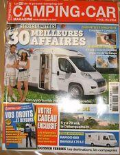 Camping Car N° 263 2014 guide droit et devoir Rapido 680 Bavaria I70 LC Auto
