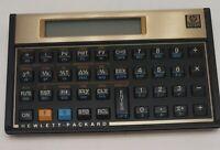 Vintage HP Calculator  12C Black/Gold Handheld Scientific Calculator