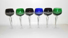 6 Cristal Verres de Vin Rome Verres DDR Avec Boîte D'Origine