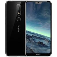 NEUF NOKIA X6 / 6.1 PLUS 4GO/64GO DUAL SIM DÉBLOQUÉ Unlocked Smartphone Noir