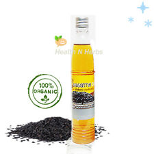 ORGANIC BLACK SESAME OIL 100% PURE COLD PRESSED Natural Oil for Your Health