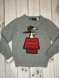 Gap Peanuts Snoopy Sweater Size 6