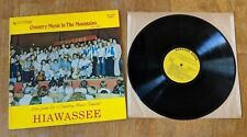 Country Music In The Mountains Vol. III Vinyl Record LP Hiawassee Sounds Georgia