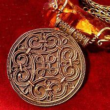 Terslev Amulett Bronze Wikinger Pendant necklace Kette