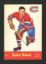 "1955 QUAKER OATS ~ PARKHURST #37 MAURICE ""ROCKET"" RICHARD ~ NM-MT ~ BEST EVER!"