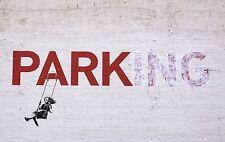 BANKSY ART POSTER PRINT A3 SIZE(PARKING)