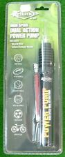DUAL ACTION  BALL PUMP WITH BALL NEEDLEAND BIKE PUMP ACC *NEW*