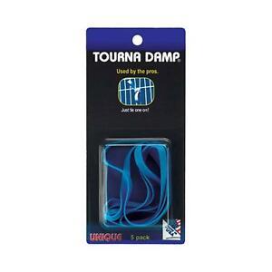 Unique Tourna Racket Accessories Damp, X 5 DAMPENER PER PACK ANTI-VIBRATION STOP