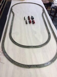 very nice Marklin - Set -M - Tracks - Loco - Cars for H0 scale Train Layout