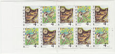 Faroe Islands 1999 Birds, Wren & House Sparrow Complete Booklet SG SB18