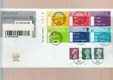 GB 2002 OCCASIONS SET,  SPECIAL DELIVERY FDC