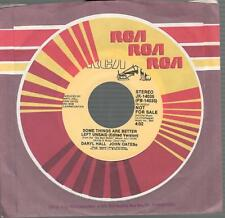 "Hall & Oates- PR Singles- Lot of 2-45 RPM- 7"""