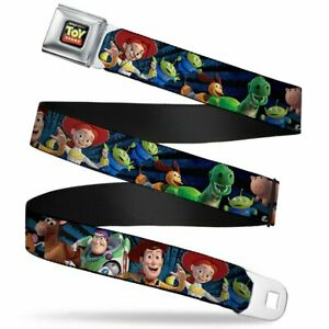 Toy Story Characters Running Seatbelt Belt