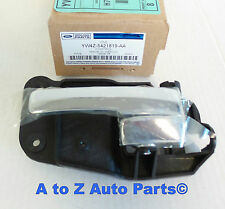 NEW 2000-2002 Lincoln LS Driver Side or LH Inside Door Handle Assembly, OEM FORD