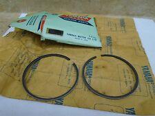 Yamaha 175 MX MX175-A B New OEM 2nd Oversize .50 Piston Ring 1974 1975  #