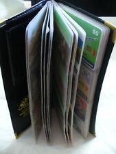 REDUCED!! Vintage 101 Phone Cards Telstra, BT + International In Card Folder