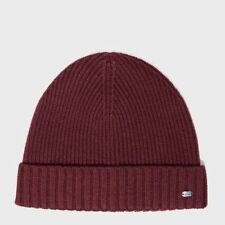 Boss Green - Ribbed Beanie - Red
