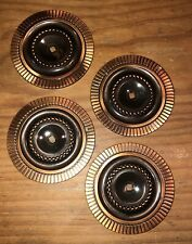 Antique Furniture Hardware Drawer Pull Backplate Medallion Mid Cent Art Deco (4)