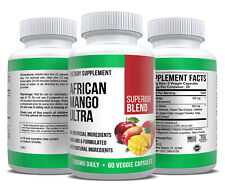 African Mango Extract Max Strength Diet Weight Loss Supplement Fat Burner Pure