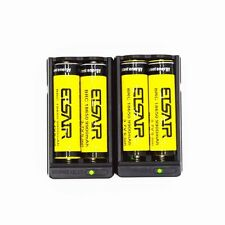4x BRC 18650 3.7V 9900mAh Li-ion Lithium Rechargeable Battery Flashlight Torch!′
