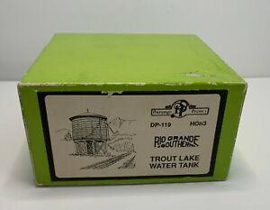 HOn3 - Durango Press Trout Lake Water Tank Model Kit Narrow Gauge