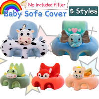 Cute Cartoon Baby Sofa Support Seat Cover Learning To Sit Plush Feeding Chair