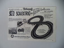 advertising Pubblicità 1966 PISTA TRI-ANG SCALEXTRIC LINES BROS e JIM CLARK