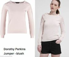 Dorothy Perkins Women's Scoop Neck Long Sleeve Jumpers & Cardigans