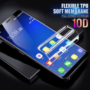 10D For Samsung S21 S20 FE Note 20 10 S9 S10 Hydrogel Full Screen Protector Film