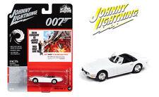 Johnny Lightning 1:64 1967 White Toyota 2000 GT James Bond Diecast Model JLSP125