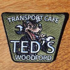 Motocicleta rockeros Cafe Racer Insignia Parche de tela Ace Teds transporte Cafe