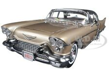 1957 CADILLAC ELDORADO BROUGHAM KENYA BEIGE 1/18 MODEL CAR BY SUNSTAR 4013