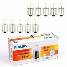 10pcs PHILIPS 12821 R5W 12V 5W BA15s Premium Vision Signal Light Lamp Bulbs