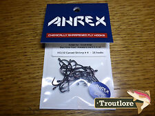 18 x AHREX NS150 #4 NORDIC SALT CURVED SHRIMP HOOKS NEW FLY TYING MATERIALS