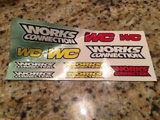 WORKS CONNECTION GRAPHIC KIT DECAL STICKER EMBLEM TRX250R LTR450R YFZ450R 450R