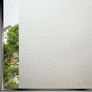 PVC Privacy Window Film Adhesive Waterproof Translucent Glass Frosted Sticker
