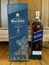 (270,00€/L.) Johnnie Walker, Year of the Rat, Blue Label, Rarität!