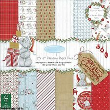 Dovecraft Me To You Happy Jolly Navidad de 8 X 8 nuevo paquete de 12 hojas de papel de muestra
