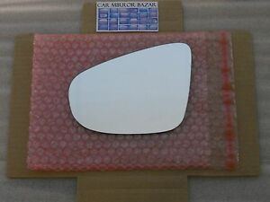 627L Replacement Mirror Glass FOR 2010-2014 VOLKSWAGEN GOLF GTI Driver Side Left