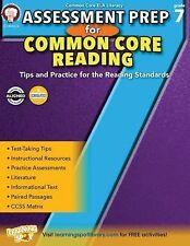 Assessment Prep for Common Core Reading, Grade 7