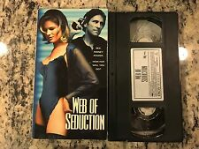 WEB OF SEDUCTION RARE EROS VHS 1999 HOT EROTIC THRILLER SLEAZE LAUREN HAYS