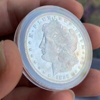 1886 morgan silver dollar Uncirculated!!BU ! Ms+ She's A Beauty! See Pictures
