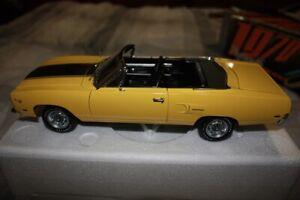 Plymouth 1970 Road Runner Convertible, Lemon Twist Yellow, Never Displayed, Rare