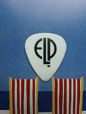 ELP Greg Lake 2010 High Voltage Festival white guitar pick - NEW OFFER!!