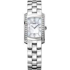 Baume Mercier Ladies MOA08745 D Hampton Milleis Stainless Steel Watch