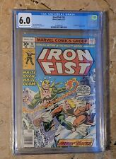 Iron Fist #14 CGC 6.0 Hot Key! (First Appearance Sabertooth)