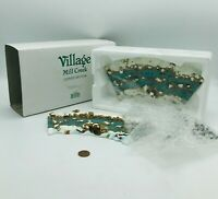 Department 56  Village Mill Creek Curved Section 52634 Christmas Holiday Display